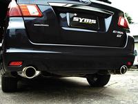 【SYMS/シムス】リアマフラー for エクシーガ YA ターボ車Y0800YA001