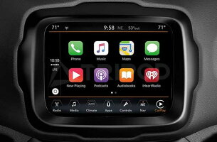 【TRIPOD/トライポッド】【TP-AUXMJ】2019y新型チェロキー 2018y- グランドチェロキー・レネゲード・コンパス 外部入力キット(AppleCarPlay搭載車)