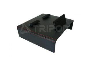 【TRIPOD/トライポッド】【AVC|F430AO】フェラーリ F430 1DINアドオン用ブラケット(黒革巻仕上げ)