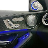 代引き・後払い不可【TRIPOD/トライポッド】【BP-MBHT64】Mercedes-Benz 専用 64色アンビエントライト対応 3Dハイエンドツイーター
