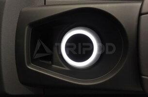 【ラッキーシール対応】【TRIPOD/トライポッド】【SC-DHI01TT】Audi TT(8S)専用ドリンクホルダーLEDイルミネーション