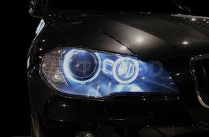 【TRIPOD/トライポッド】【LED_E70】X5(E70)前期用 LEDリング H8タイプ(キャンセラー内蔵)