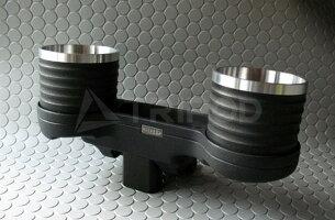 【TRIPOD/トライポッド】【AL-075BS】ALCABOドリンクホルダー for BMW E90/E91/E92/E93 ブラック/リングカップ