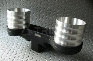 【TRIPOD/トライポッド】【AL-075S】ALCABOドリンクホルダー for BMW E90/E91/E92/E93 シルバーカップ