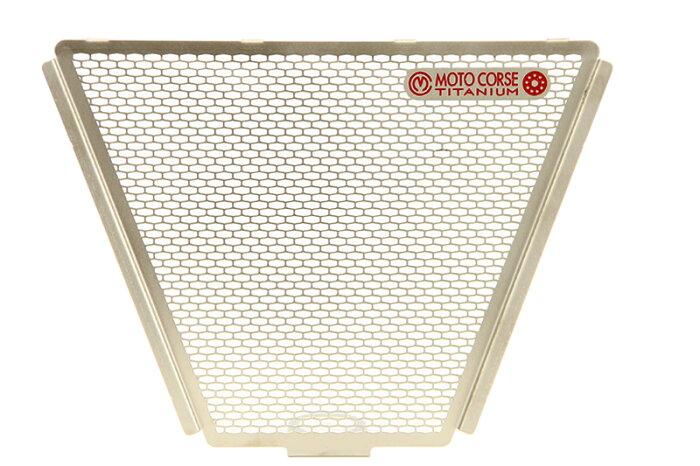 【MOTO CORSE/モトコルセ】チタニウム プロテクションスクリーン オイルクーラー for ドゥカティ XDIAVEL (2016-2019) MCTP0060