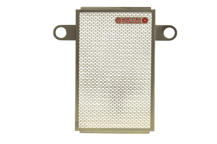 【MOTO CORSE/モトコルセ】チタニウム プロテクションスクリーン オイルクーラー for ドゥカティ スーパースポーツ939 MCTP0066