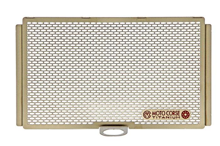 【MOTO CORSE/モトコルセ】チタニウム プロテクションスクリーン オイルクーラー for ドゥカティ ムルティストラーダ 1200 MCTP0054