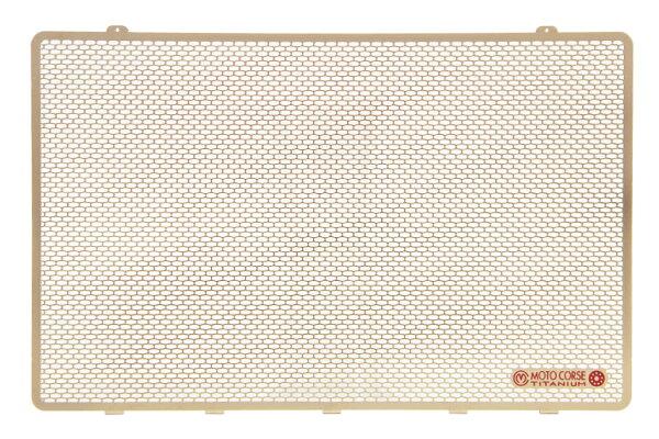 【MOTO CORSE/モトコルセ】チタニウム プロテクションスクリーン ラジエター for ドゥカティ 1198/1098/848 MCTP0014