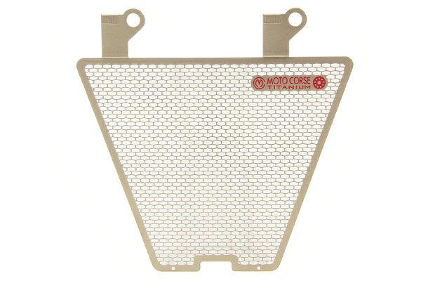 【MOTO CORSE/モトコルセ】チタニウム プロテクションスクリーン オイルクーラー for ドゥカティ 1198/1098/848 MCTP0015