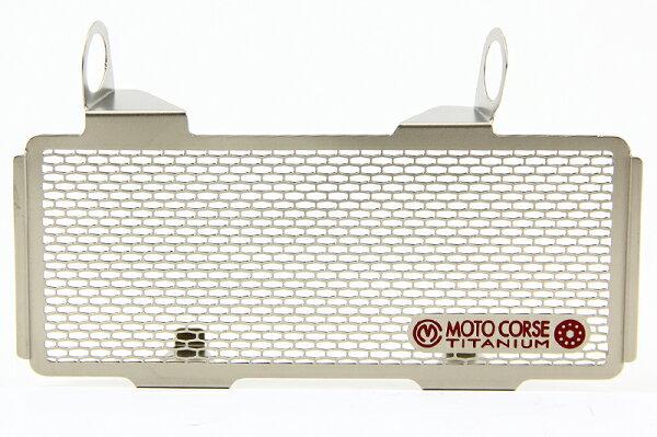 【MOTO CORSE/モトコルセ】チタニウム プロテクションスクリーン オイルクーラー for ドゥカティ モンスターS4RS (03-06)/ビモータ DB6/ビモータTESI 3D/ビモータDBX MCTP0048