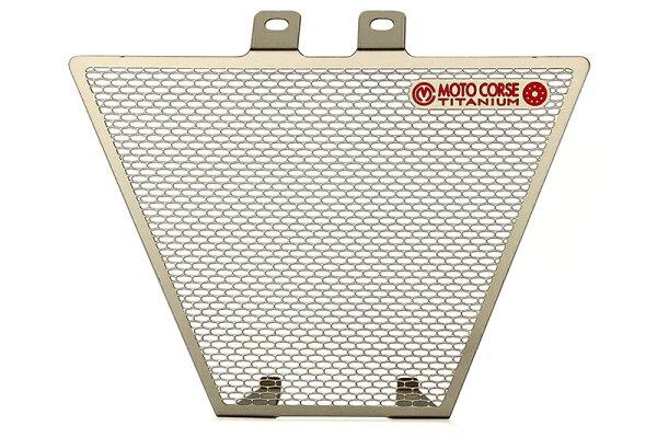 【MOTO CORSE/モトコルセ】チタニウム プロテクションスクリーン オイルクーラー for MVアグスタ F3 MCTP0035