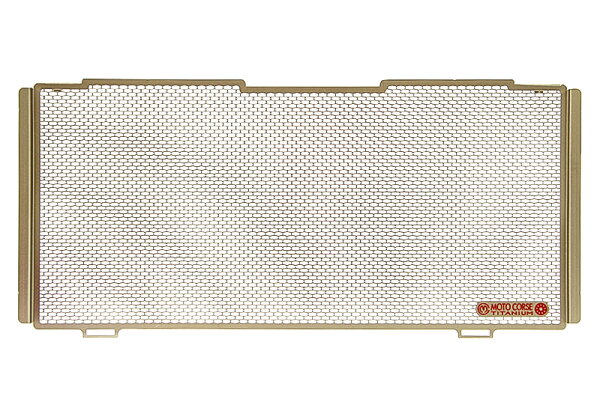 【MOTO CORSE/モトコルセ】チタニウム プロテクションスクリーン ラジエター for BMW R1200 MCTP0058