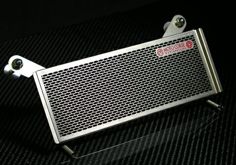 【MOTO CORSE/モトコルセ】チタニウム プロテクションスクリーン オイルクーラー for BMW R1200 MCTP0017