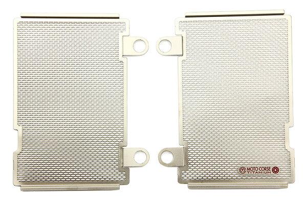 【MOTO CORSE/モトコルセ】チタニウム プロテクションスクリーン ラジエター for ホンダ CRF1000L MCTP0065