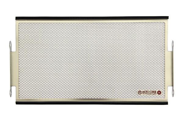 【MOTO CORSE/モトコルセ】チタニウム プロテクションスクリーン ラジエター for ホンダ CB250 MCTP0049