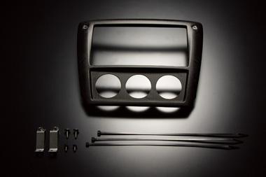 【ラッキーシール対応】【BLITZ/ブリッツ】レーシングカーボンメーターパネル 19167RACING CARBON METER PANEL Φ52×3 RC-METER-P