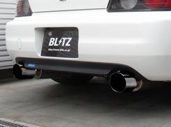 代引き不可、自動車工場、ショップ様への発送となります(沖縄・離島を除く)【BLITZ/ブリッツ】EX-SYSTEM [エキゾーストシステム/マフラー] NUR-SPEC VSニュルスペック VS [HONDA S2000 AP1]  63162