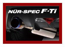 代引き不可、自動車工場、ショップ様への発送となります(沖縄・離島を除く)【BLITZ/ブリッツ】EX-SYSTEM [エキゾーストシステム] NUR-SPEC F-Tiニュルスペック F-Ti [MAZDA ロードスター ND5RC] 67154