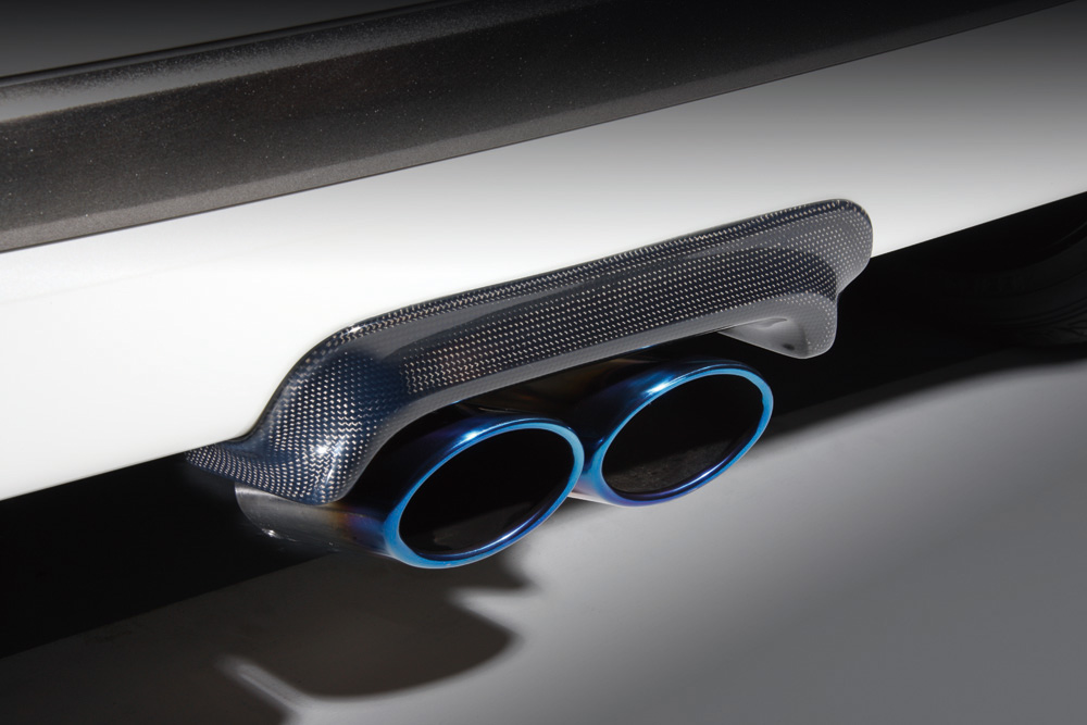 【ラッキーシール対応】【BLITZ/ブリッツ】エアロスピード RコンセプトAERO SPEED R-concept マフラーガーニッシュ CARBON [N-ONE JG1]  60150