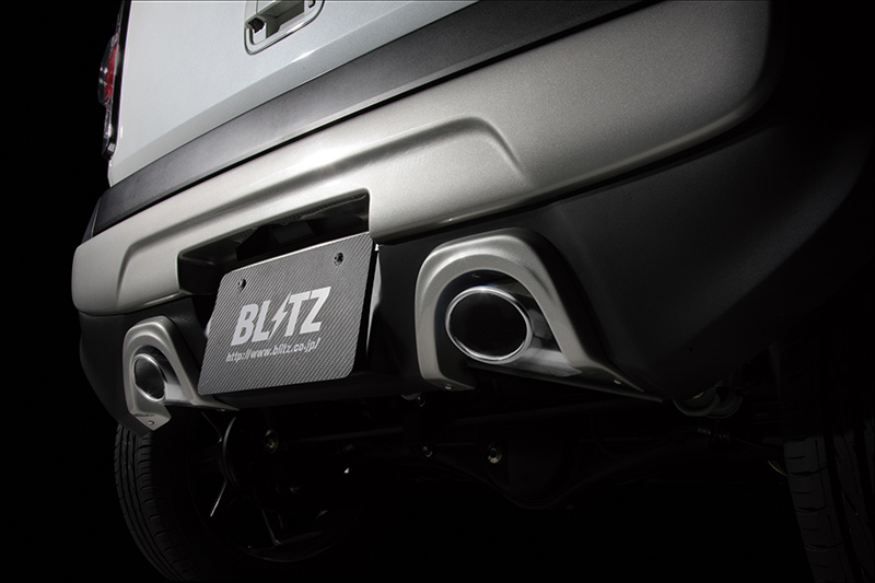 【BLITZ/ブリッツ】エアロスピード RコンセプトAERO SPEED R-concept マフラーガーニッシュ FRP [ハスラー MR31S R06A Turbo]  60172