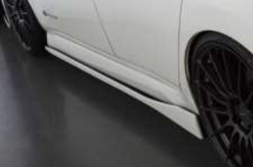 受注生産、予約販売受付中!【BLITZ/ブリッツ】エアロスピード RコンセプトAERO SPEED R-concept サイドスカート未塗装、白ゲルコート仕上げ [NISSAN LEAF]  60272