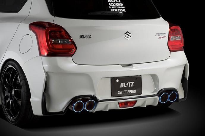 受注生産、予約販売受付中!【BLITZ/ブリッツ】エアロスピード RコンセプトAERO SPEED R-concept リアバンパースポイラーFRP未塗装 [スイフトスポーツ ZC33S]  60268