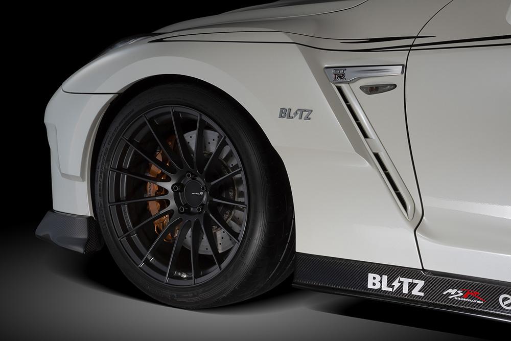 受注生産、予約販売受付中!【BLITZ/ブリッツ】エアロスピード RコンセプトAERO SPEED R-concept フロントフェンダー[GT-R]  60352