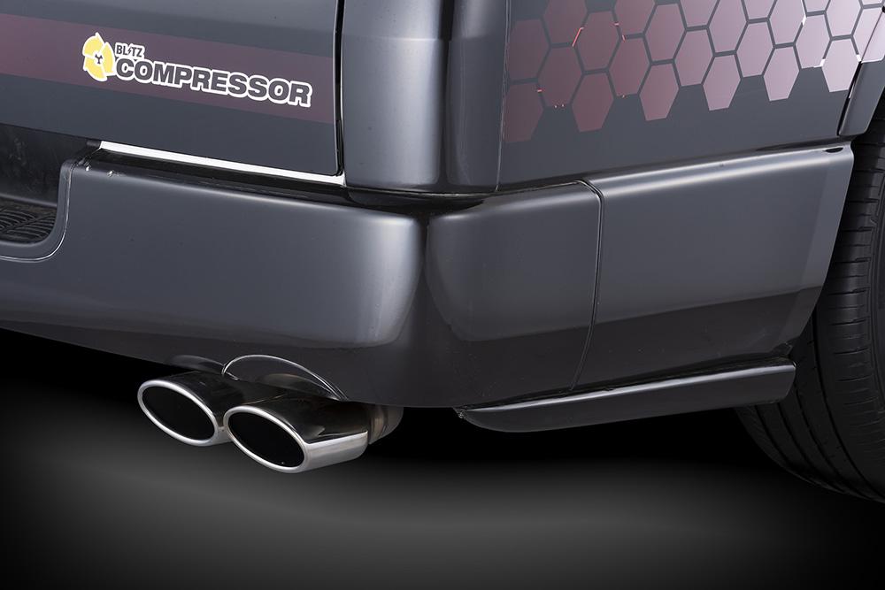 RコンセプトAERO SPEED for R-concept ACE] 受注生産、予約販売受付中!【BLITZ/ブリッツ】エアロスピード STD[HIACE/REGIUS リアサイドプロテクター 60370