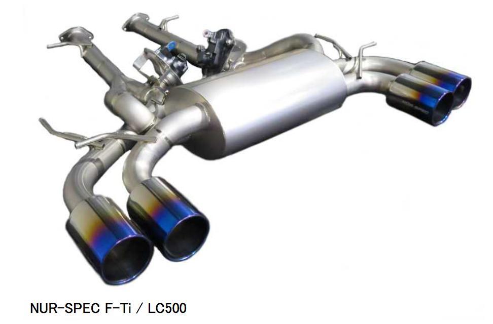 新発売!代引き不可、自動車工場、ショップ様への発送となります(沖縄・離島を除く)【BLITZ/ブリッツ】EX-SYSTEM [エキゾーストシステム] NUR-SPEC F-Tiニュルスペック F-Ti [LEXUS LC500] 67155