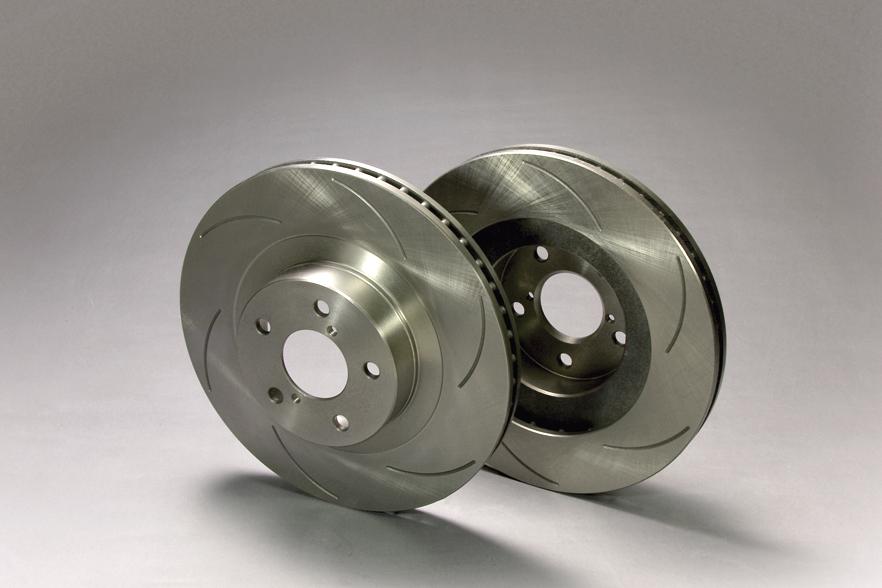 【ラッキーシール対応】期間限定超特価!【Project μ/プロジェクト・ミュー】 p.muSCR ピュアプラス6 ブレーキローター 2枚セット 無塗装品[RX-8 (Type-E/S) リア用] SPPZ202-S6NP