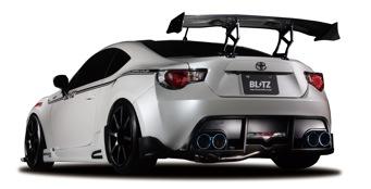 【BLITZ/ブリッツ】エアロスピード RコンセプトAERO SPEED R-concept リアディフューザー 単品 [86/BRZ]  60155