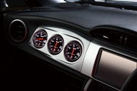 【BLITZ/ブリッツ】レーシングメーターパネルブーストメーターセット 19182/19184RACING METER PANEL BOOST METER SET for 86/BRZ SILVER