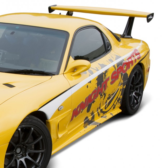 【KNIGHT SPORTS/ナイトスポーツ】 サイドスカート, TYPE-4 R&L for RX-7(FD3S ALL) KDE-73401