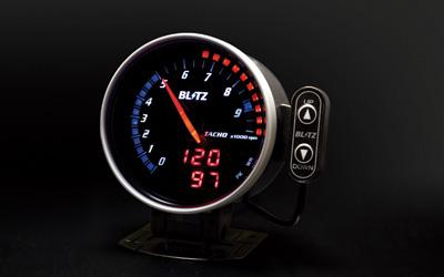 【ラッキーシール対応】【BLITZ/ブリッツ】FLD METER TACHO (E/G油温タイプ) 15208 エフエルディーメータータコ