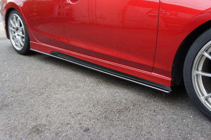 【KNIGHT SPORTS/ナイトスポーツ】 SIDE SKIRTS FOR ATENZA SEDAN KZD-73601
