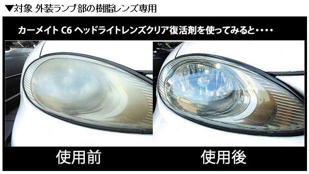 how to get headlight lenses clear