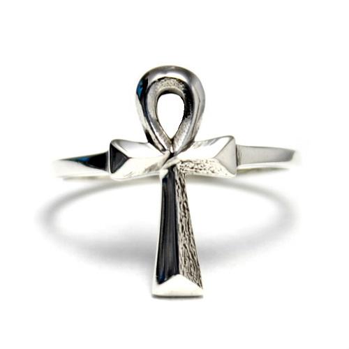 Egyptian ankh Egypt cross Egypt cross KEY OF LIFE silver 925 ring ring  accessories lucky charm goodvibrations good vibration