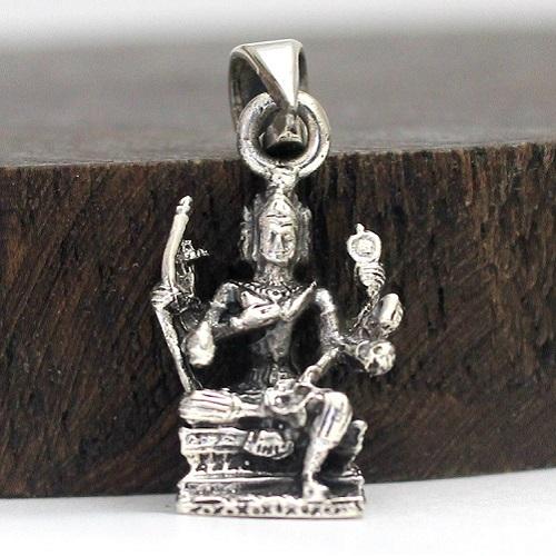 インド ブラフマー シルバー 4年保証 ペンダントトップ 神様 シルバーアクセサリー ペンダント ペンヘッド お守り 開運 新色追加