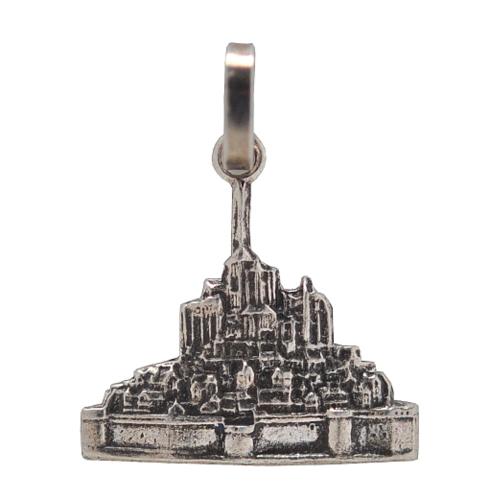 キャンペーンもお見逃しなく フランスの世界遺産Mont-Saint-Michel モン サン ミッシェルで直接購入 Mont Saint-Michel モンサンミッシェル フランスの世界遺産モン メール便 宅配便可 レディース 宅配便コンパクト ミッシェルのシルバーカラーチャームペンダントトップ ミッシェルMont バースデー 記念日 ギフト 贈物 お勧め 通販 ネックレス