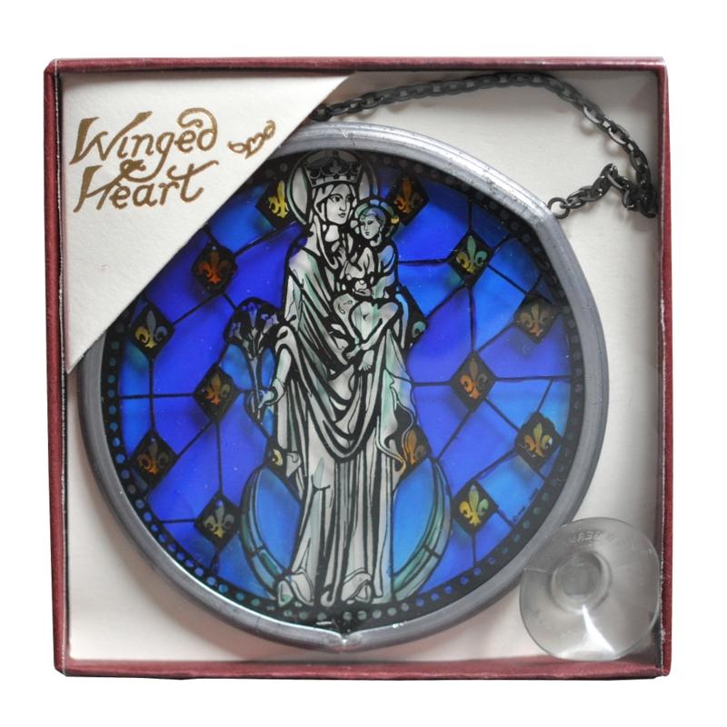 パリ・ノートルダム大聖堂ミニチュアステンドグラスStellaMaris