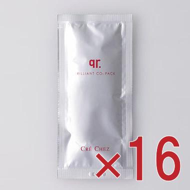 クレシェ・qr ブリリアントCO2パック(炭酸パック)16包入り【10P03Dec16】