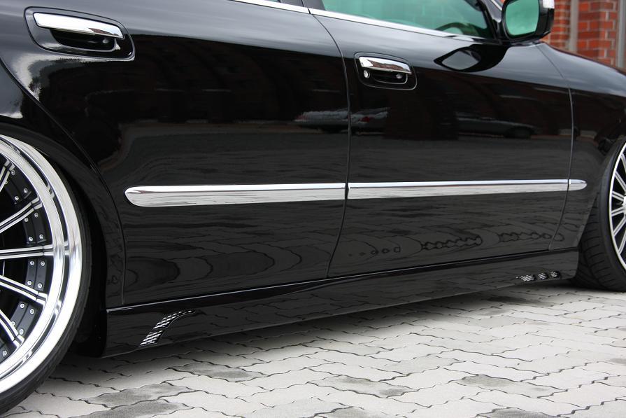 JOBDESIGN ジョブデザイン Hybrid Neo シーマ F50 前期 サイドステップ