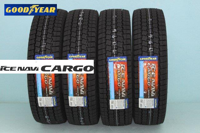 ☆☆GOOD YEAR ICE NAVI CARGOグッドイヤー アイスナビ カーゴ スタッドレスタイヤ 205/70R16 111/109L 4本セット