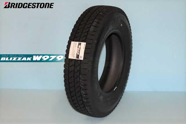 ◎◎ブリドストン ブリザック W979小型トラック用スタッドレスタイヤ 225/60R17.5 116/114L BSタイヤは返品交換!ご注意下さい