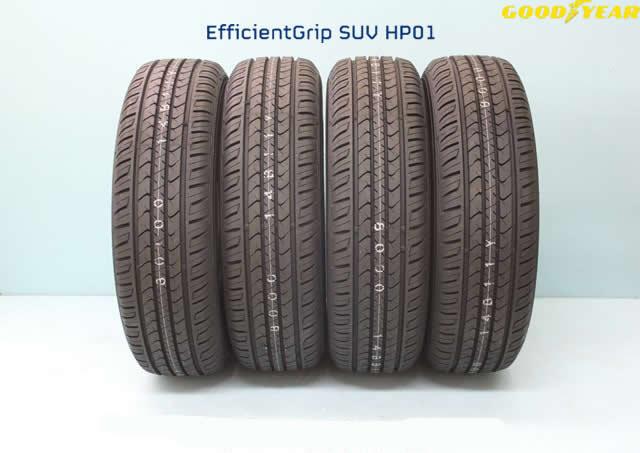 ☆グッドイヤー エフィシエントグリップSUV HP01 215/80R15 102S 4本セット
