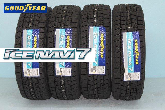 ☆☆GOODYEAR ICE NAVI 7グッドイヤー アイスナビ 7 スタッドレスタイヤ 245/40R18 93Q 4本セット