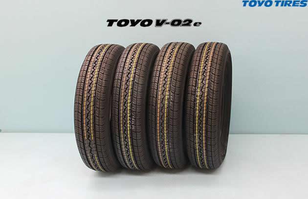◎ TOYO V-02eトーヨー ブイゼロツーイー 165R13 6PR 4本セット