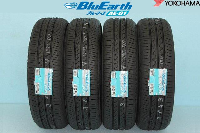 ☆ YOKOHAMA BluEarth AE-01ヨコハマ ブルーアース AE01 155/65R13 73S 4本セット