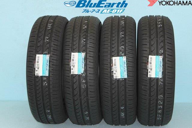 ☆ YOKOHAMA BluEarth AE-01Fヨコハマ ブルーアース AE01F 185/65R15 88S 4本セット