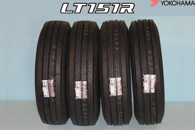 ☆ヨコハマ LT151R 小型トラック用タイヤ175/75R15 103/101L 4本セット